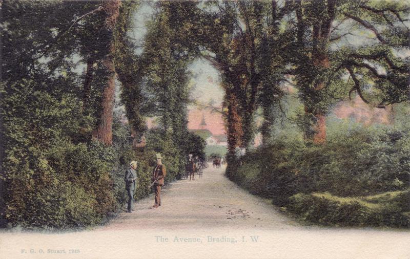 The Avenue, Brading, I. W
