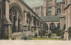 1273  -  Winchester College, The Cloisters