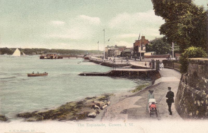 The Esplanade, Cowes, I.W.