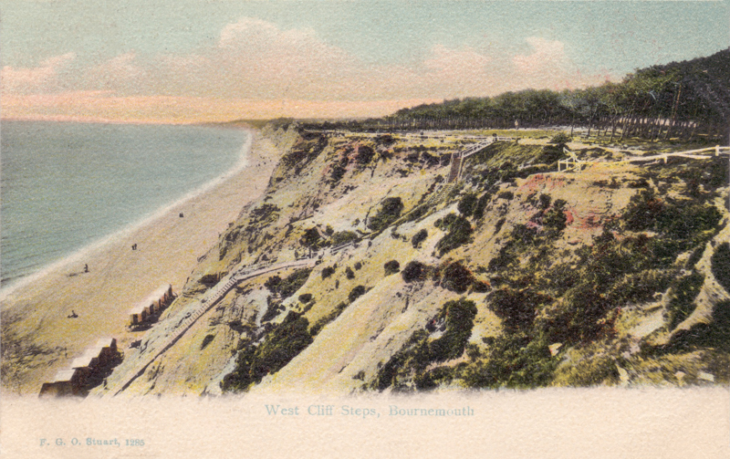 West Cliff Steps, Bournemouth