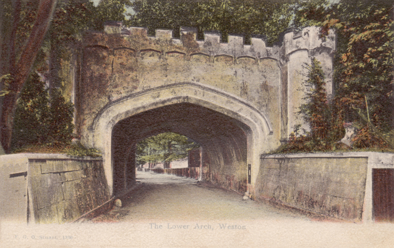 The Lower Arch, Weston