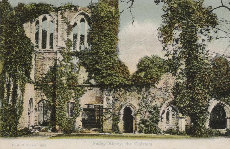 Netley Abbey, The Cloisters