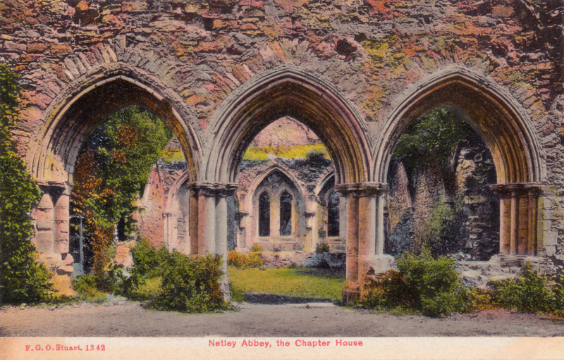 Netley Abbey, the Chapter House
