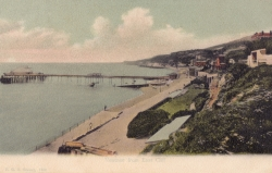 1342  -  Ventnor from East Cliff
