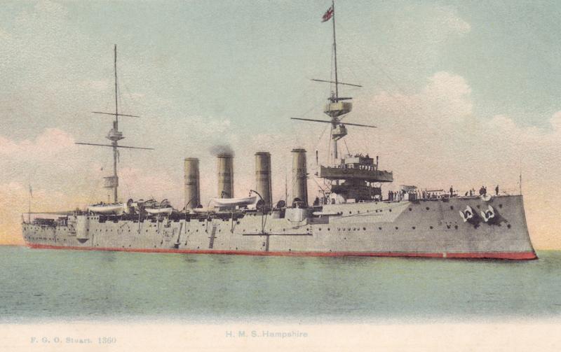 H.M.S. Hampshire