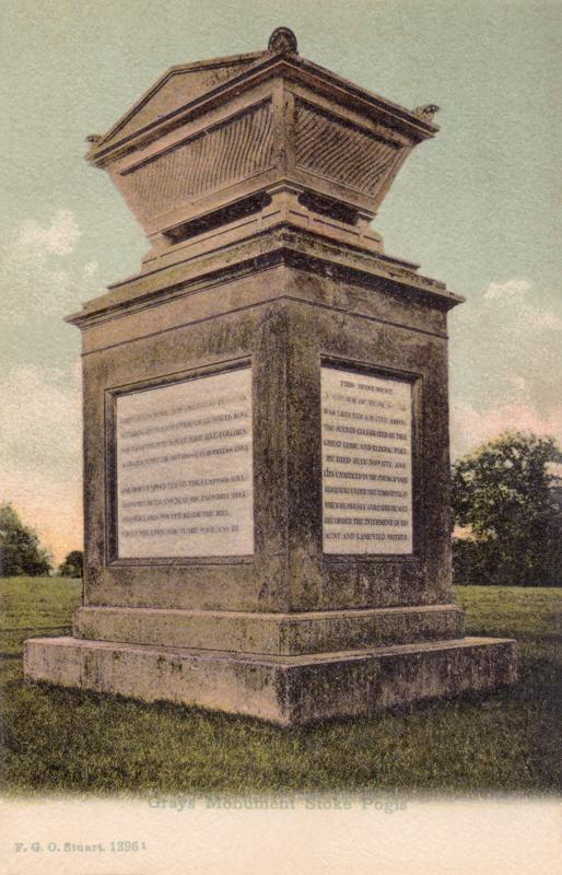 Gray's Monument Stoke Pogis
