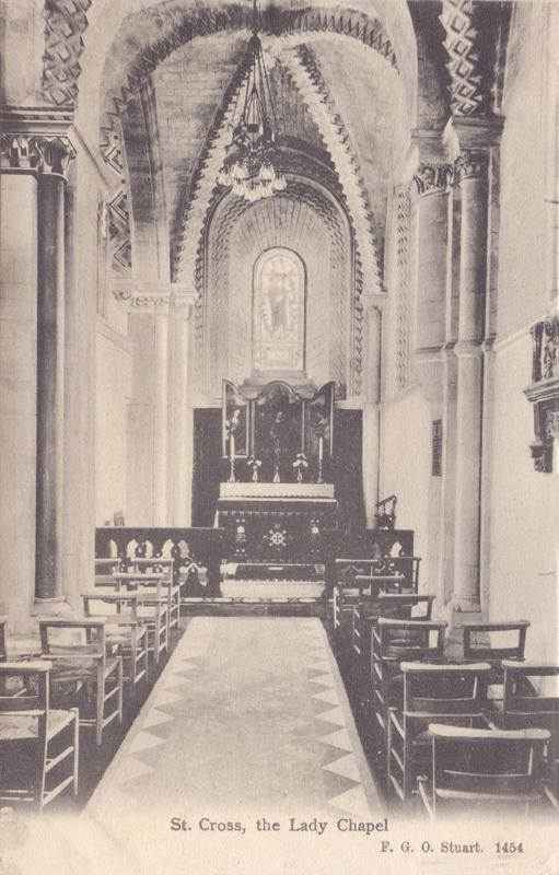 St Cross, the Lady Chapel