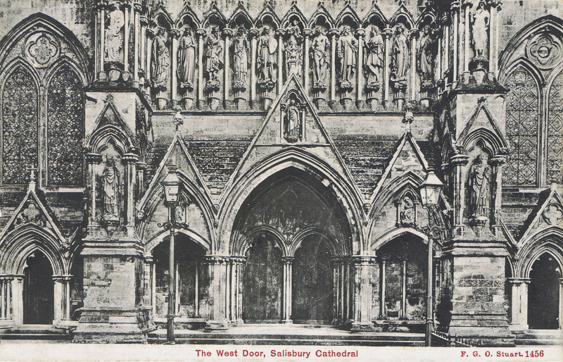 The West Door, Salisbury Cathedral