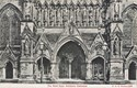 1456  -  The West Door, Salisbury Cathedral