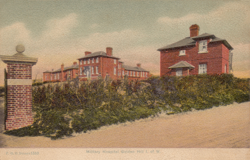 Military Hospital, Golden Hill, I. of W.