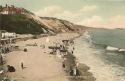 1599  -  Boscombe Cliffs From West