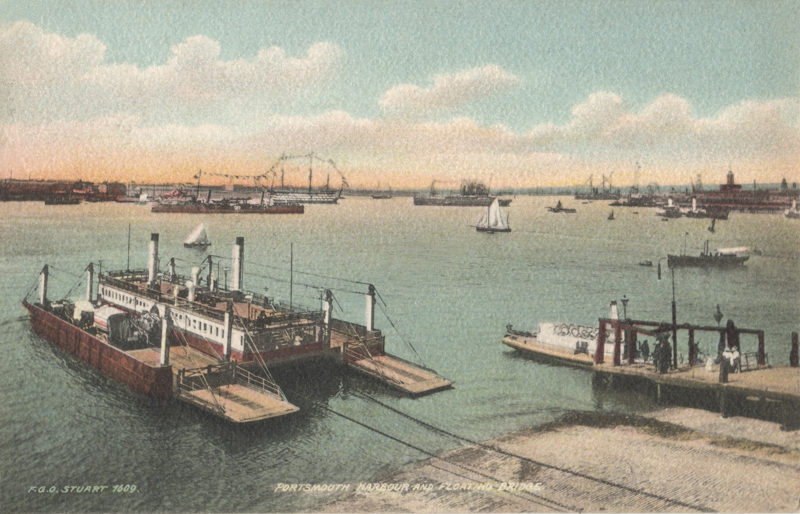 Portsmouth Harbour and Floating Bridge