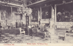 1616  -  Windsor Castle, The Rubens Room
