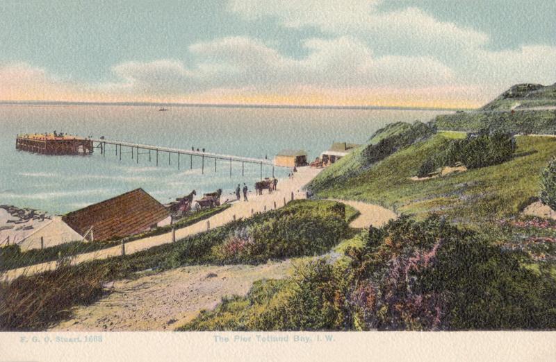 The Pier, Totland Bay, I.W,