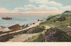 1668  -  The Pier, Totland Bay, I.W,