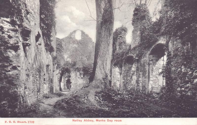 Netley Abbey, Monks Day Room