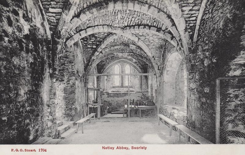 Netley Abbey Sacristy
