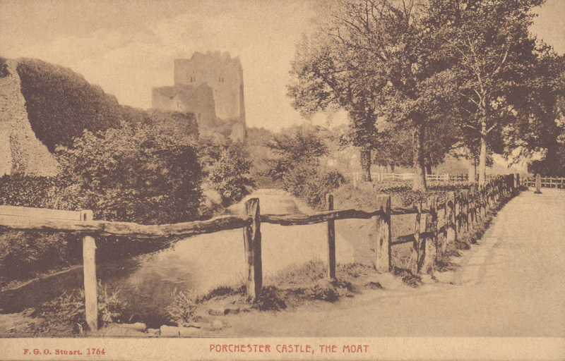 Portchester Castle, The Moat