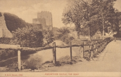 1754  -  Portchester Castle, The Moat