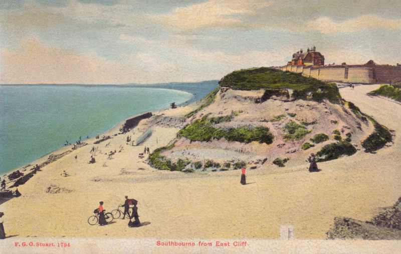 Southbourne from East Cliff