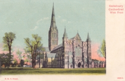 18009  -  Salisbury Cathedral West Front