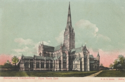 18009  -  Salisbury Cathedral from North East