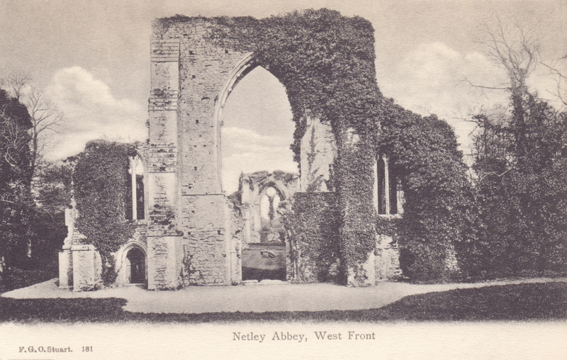Netley Abbey, West Front