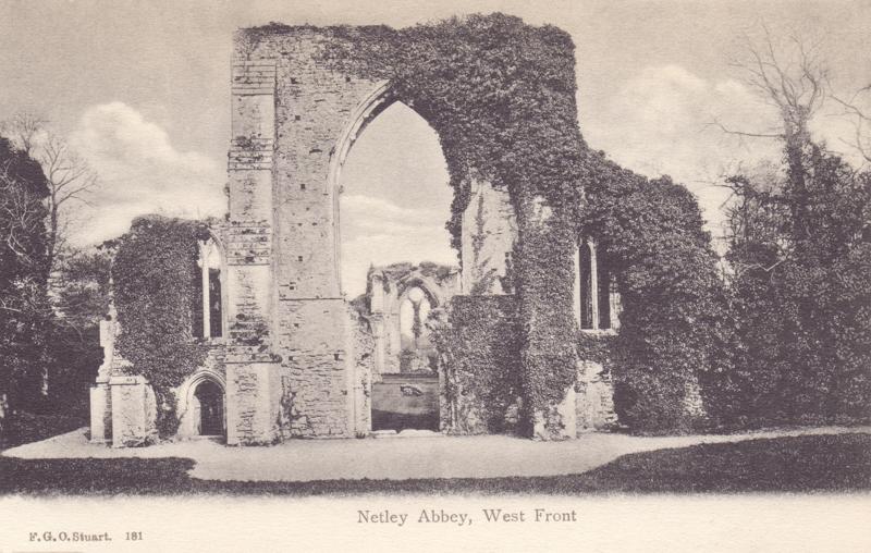 Netley Abbey, West Front