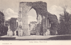 181  -  Netley Abbey, West Front
