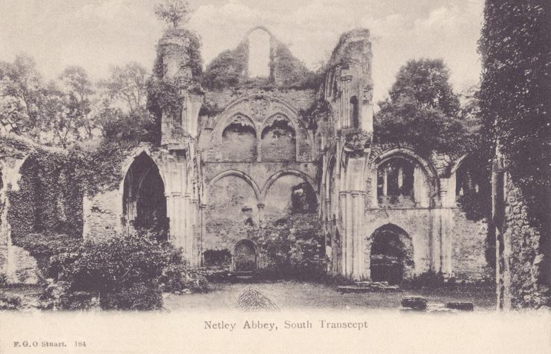 Netley Abbey, South Transcept