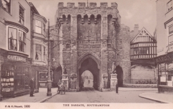1930  -  The Bargate, Southampton