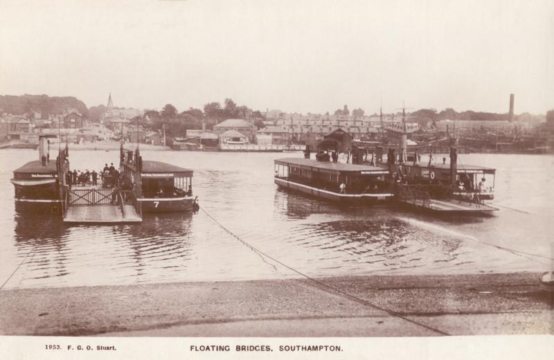 Floating Bridges. Southampton