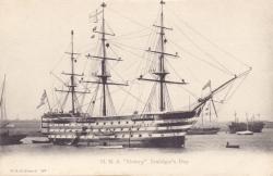 "197  -  H.M.S. ""Victory"", Trafalgar's Day"