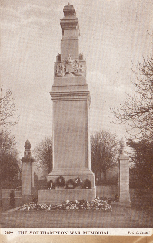The Southampton War Memorial