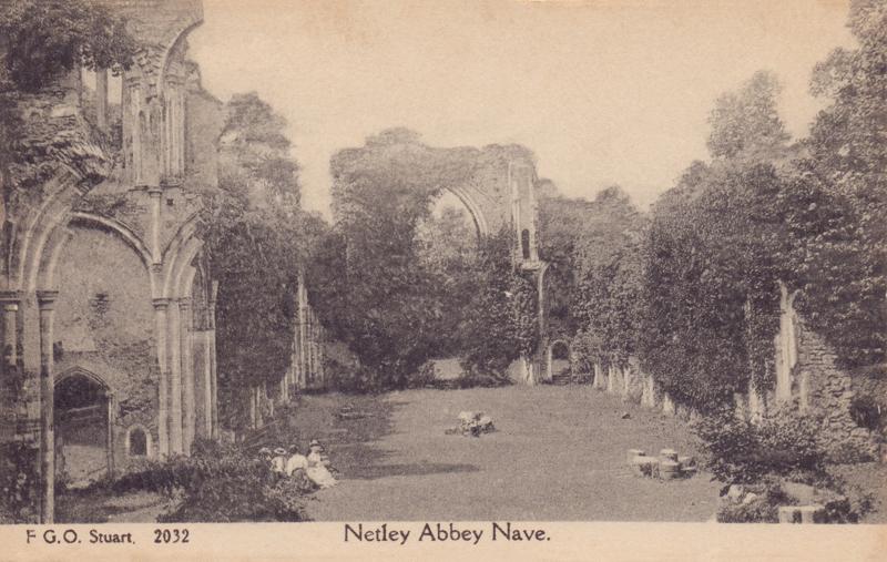 2032  -  Netley Abbey, Nave