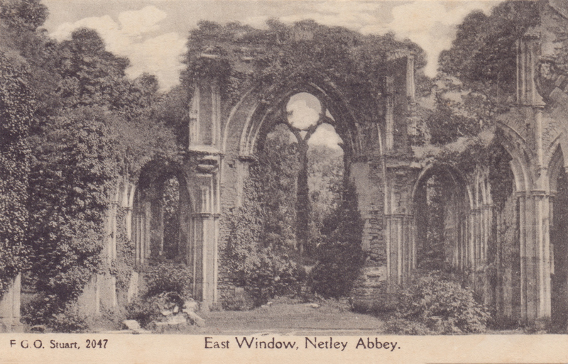 East Window, Netley Abbey