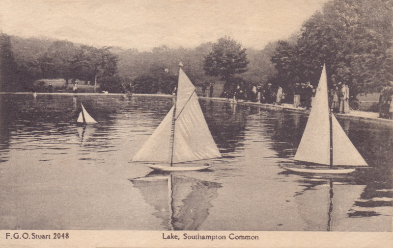 Lake, Southampton Common