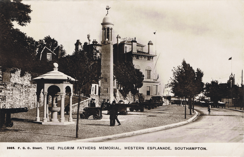 The Pilgrim Father's Memorial,Western Esplanade, Southampton