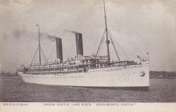 """2119  -  Union Castle Line R.M.S """"Kenilworth Castle"""""""