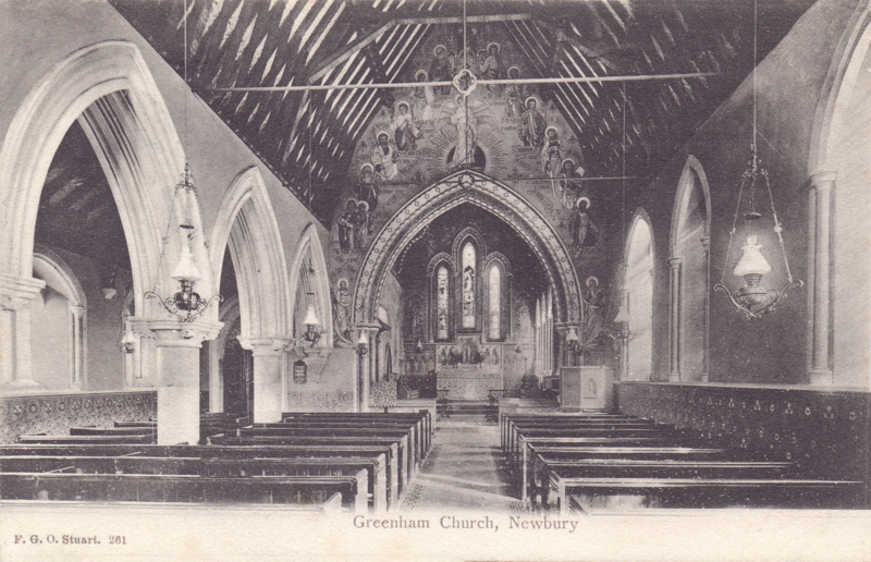 Greenham Church, Newbury