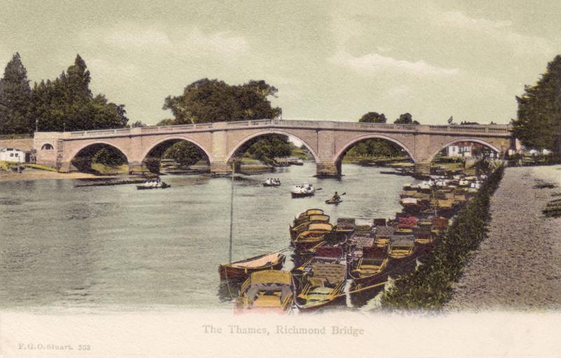 The Thames, Richmond Bridge