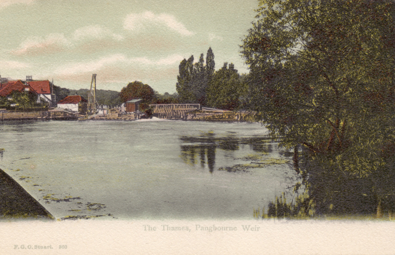 The Thames, Pangbourne Weir