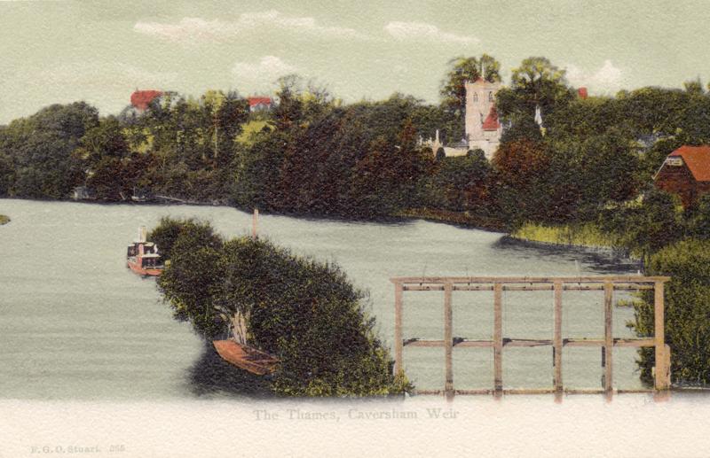 The Thames, Caversham Weir