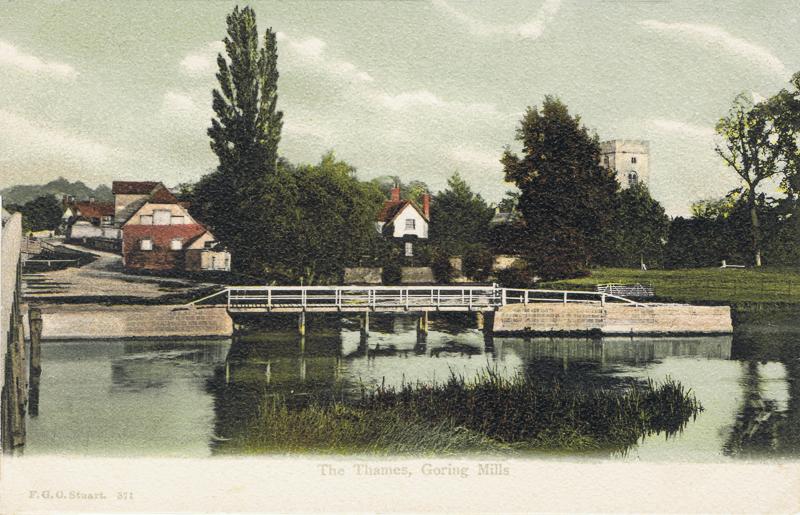 The Thames, Goring Mills