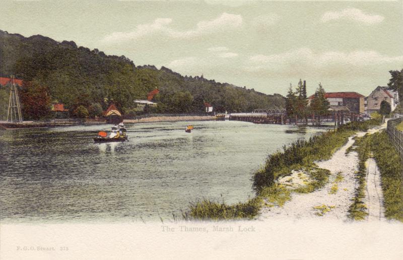 The Thames, Marsh Lock
