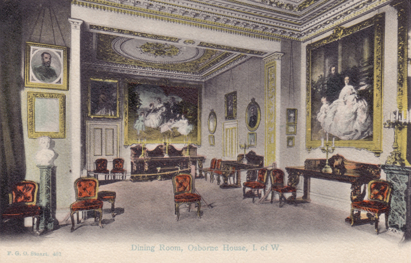Dining Room, Osborne House, I. of W.