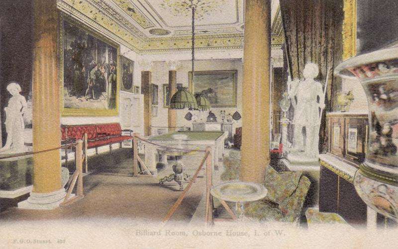 Billiard Room, Osborne House, I. of W.
