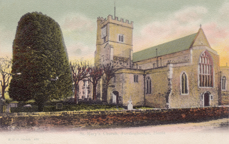 St Mary's Church, Fordingbridge, Hants