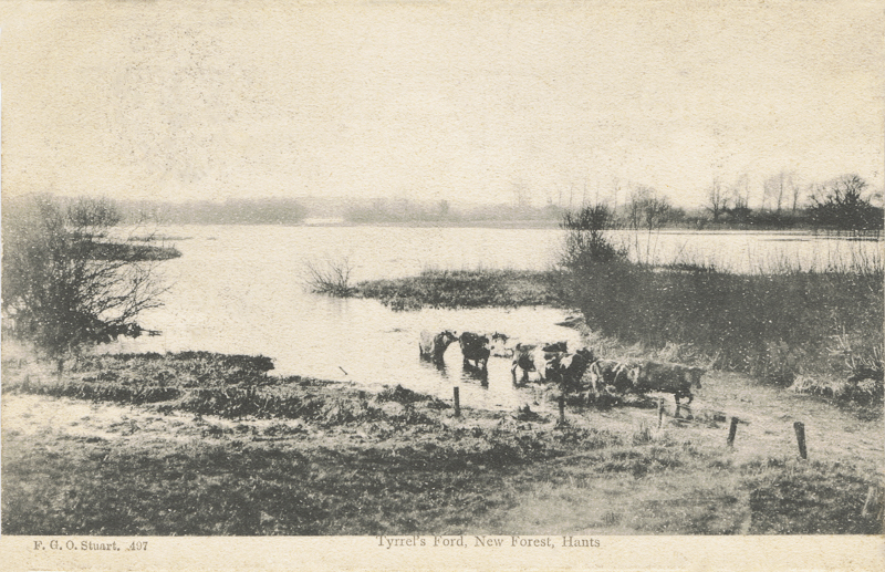 Tyrell's Ford, New Forest, Hants