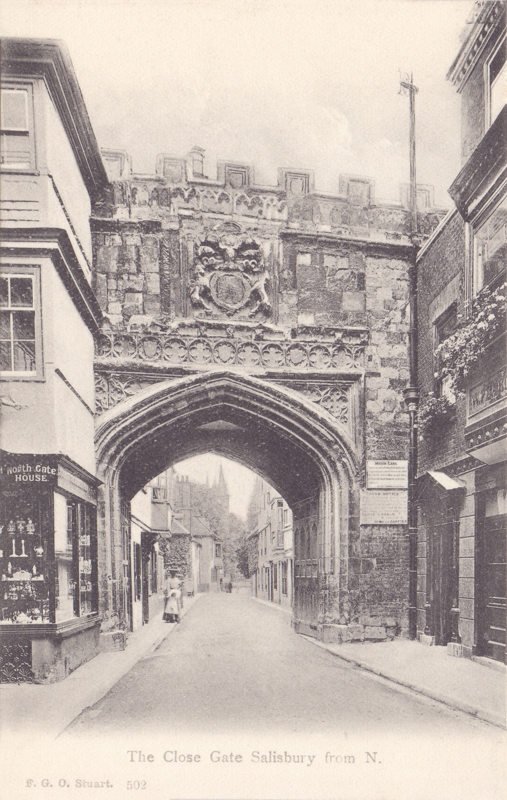 502  -  The Close Gate Salisbury from N